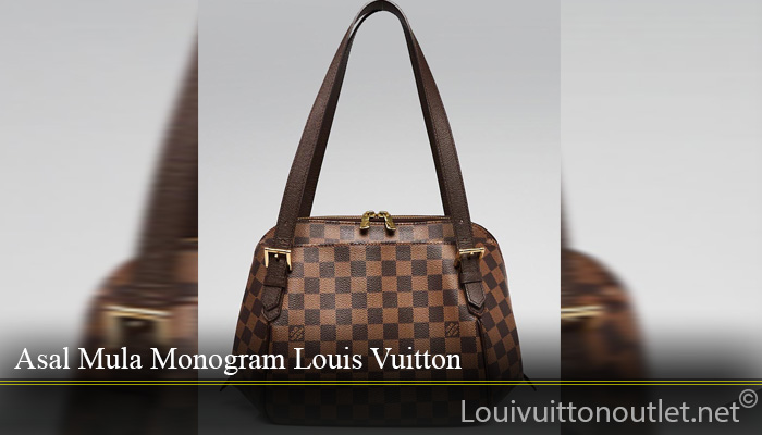 Tas Louis Vuitton Damier Canvas Belem MM